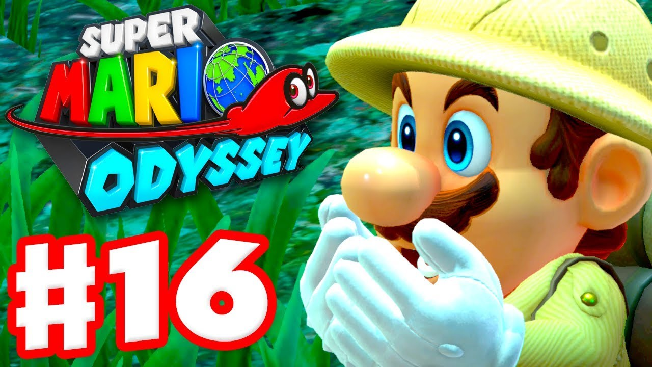 Super Mario Odyssey - Gameplay Walkthrough Part 16 - Deep Woods! (Nintendo  Switch)