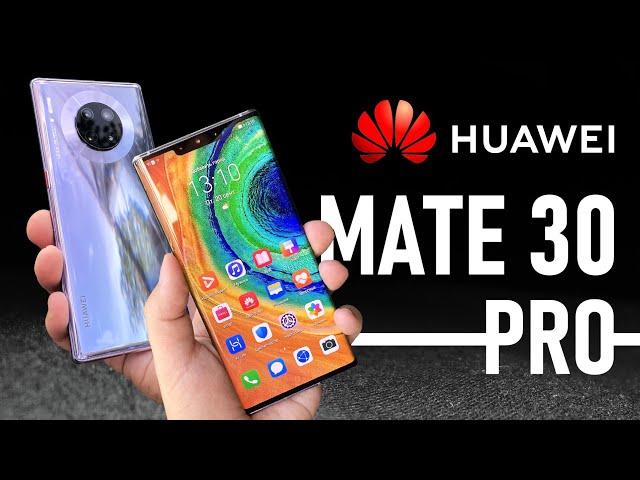 Обзор HUAWEI MATE 30 PRO и тест камеры в УЛЬТРА СЛОУ-МО 7680 FPS