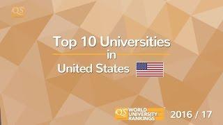 Top 10 Universities - Top 10 Universities in the US 2016/17