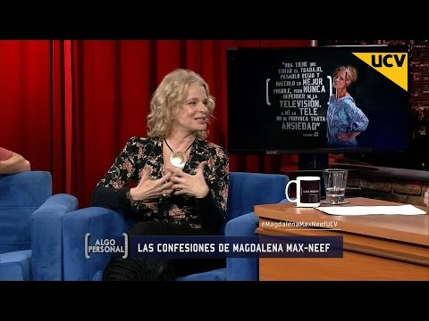 """Algo Personal (23-09-2015) - Magdalena Max-Neef: """"Nunca Que Yo Pedí Pega En La Tv, Me La Dieron"""""""