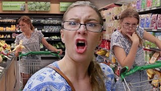 WHEN MUM GOES GROCERY SHOPPING... || Georgia Productions
