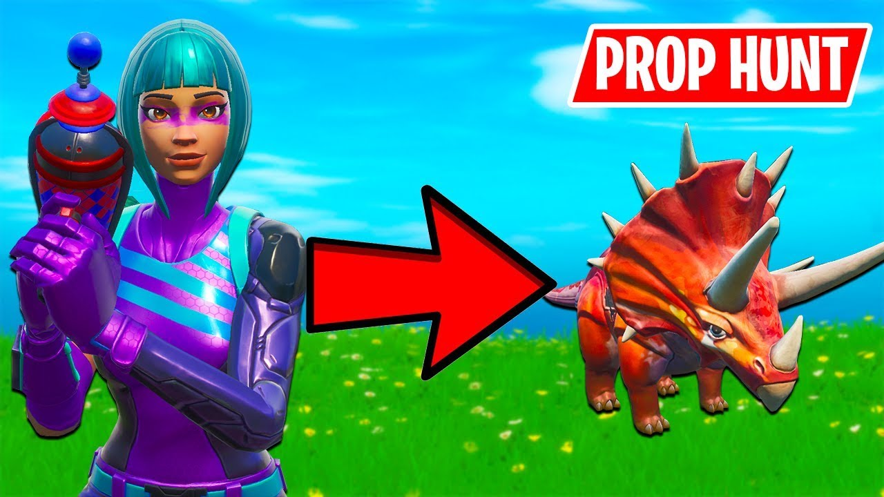 NEW* PROP HUNT MAPS! BEST SPOTS (Fortnite Battle Royale Gameplay