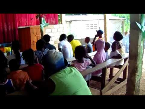 Haiti Relief Fund's donate and instal drinking water system at Kay Sale Community School