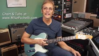 The Beatles - Don't Let Me Down - Lesson by Mike Pachelli