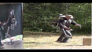 Homemade Exoskeleton,  Final Test,  Powered Walking and Lifting