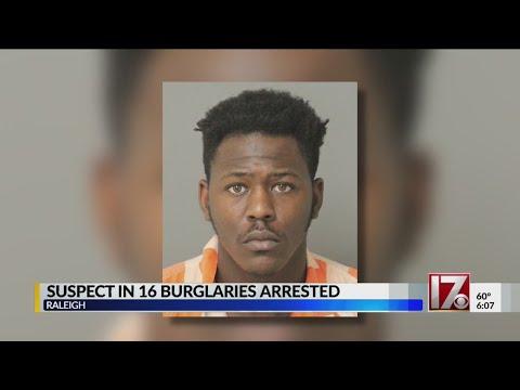 Suspect in 16 burglaries arrested