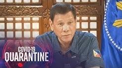 President Duterte addresses the nation (12 May 2020)