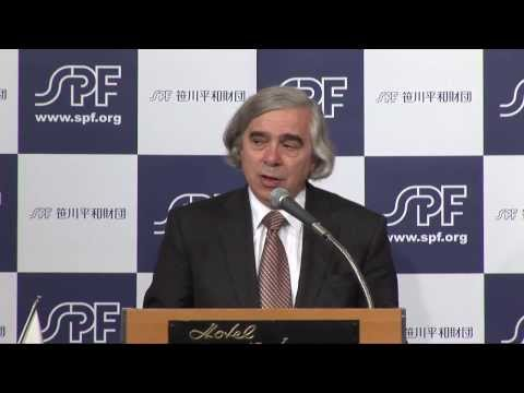 Lecture by the Honorable Dr. Ernest Moniz, the United States Secretary of Energy
