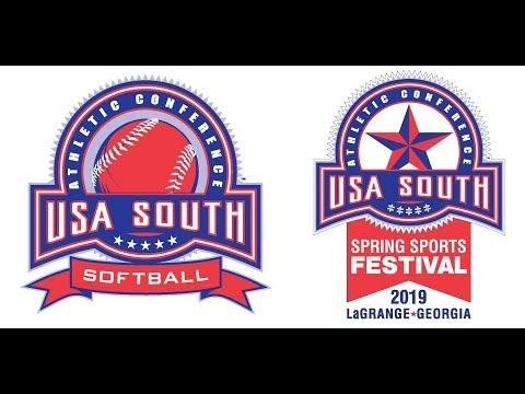 2019 USA South Softball Tournament - Game 9