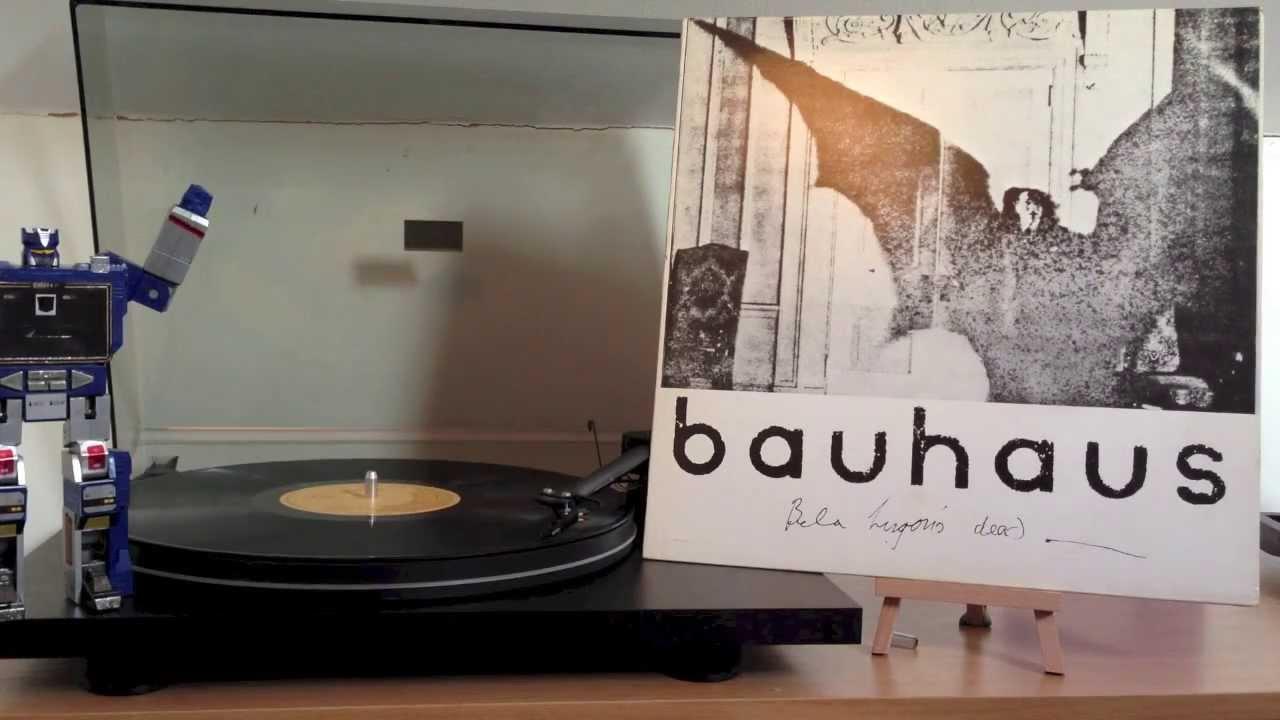 bauhaus bella lugusi 39 s dead vinyl rip youtube. Black Bedroom Furniture Sets. Home Design Ideas