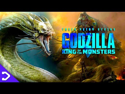 The Titans You DIDN'T SEE In Godzilla: King Of The Monsters! (2019)