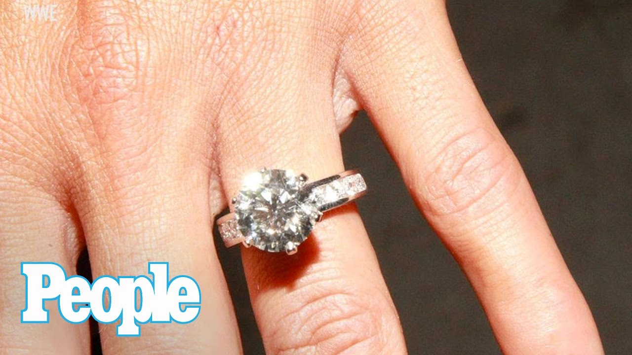 WWE Nikki Bella Dishes On Her 45 Carat Engagement Ring Wedding