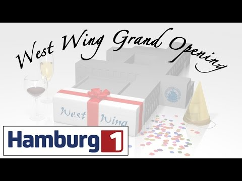 ISH West Wing Grand Opening (Hamburg 1 TV Feature)