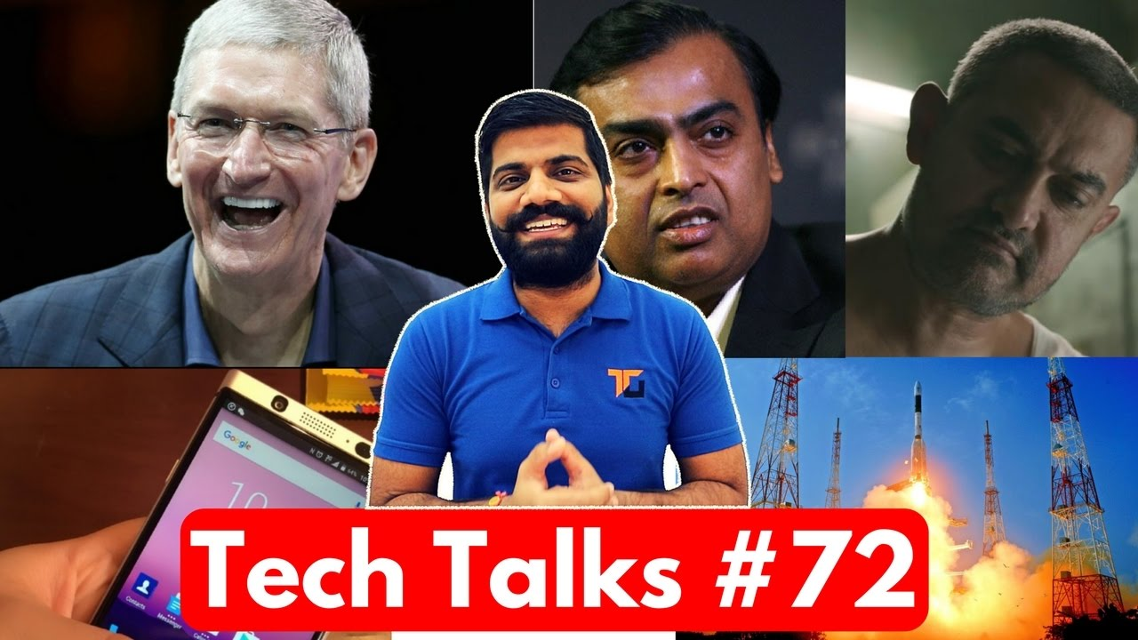 Tech Talks #72 - Apple Hits Nokia, Jio on Risk, Aadhaar Payment App, ISRO World Record