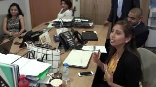 Christophe Choo speaking at Coldwell Banker Dubai United Arab Emirates UAE