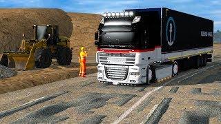 ETS 2 / Доставка груза по Европе на быстром грузовике...