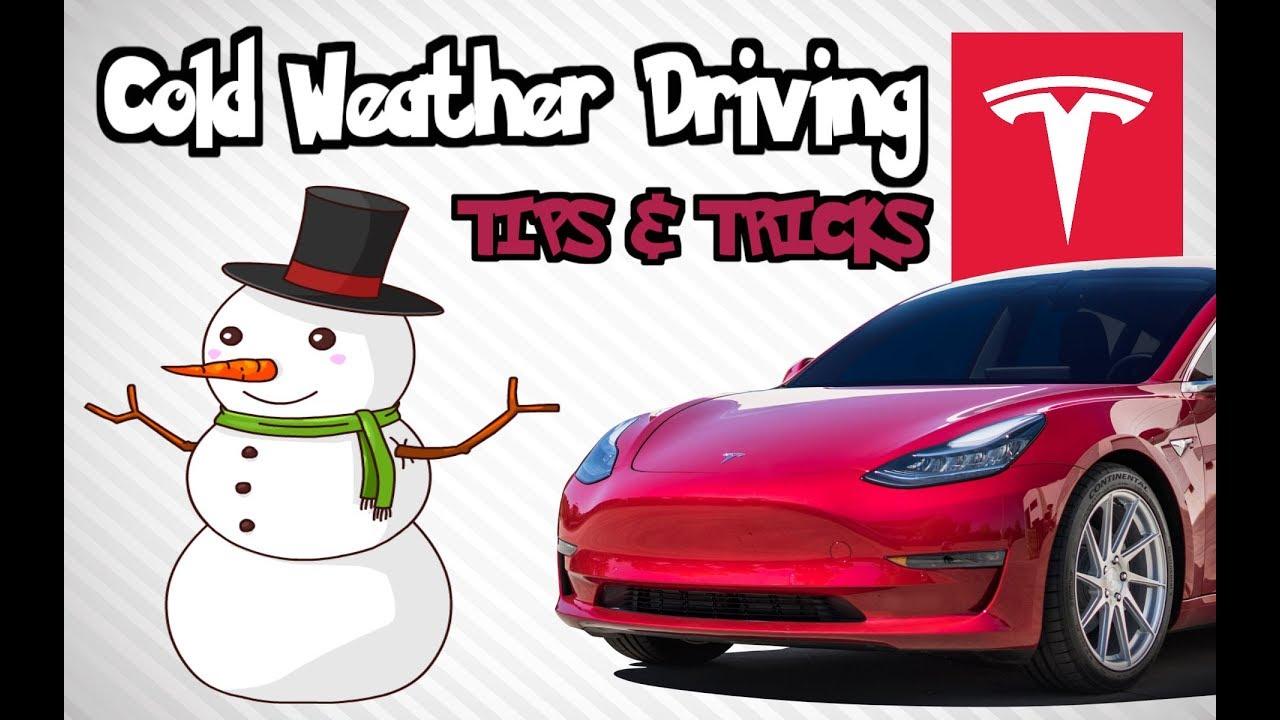 Tesla Model 3: Cold Weather Driving Tips & Tricks - YouTube