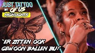 De HEFTIGSTE TATTOOS & REACTIES uit aflevering 1 | Just Tattoo of Us Benelux - Highlights