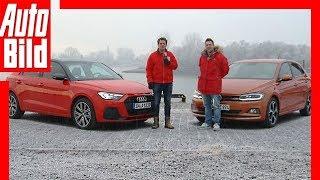 Audi A1 vs VW Polo (2019) Test / Fahrbericht / Review