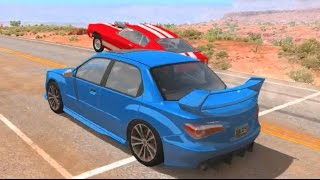BeamNG Campaigns Ep2 - HE WHEELIED OFF THE LINE!!