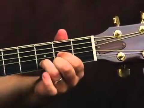 Acoustic Guitar Lesson - How To Embellish Cowboy Chords - YouTube