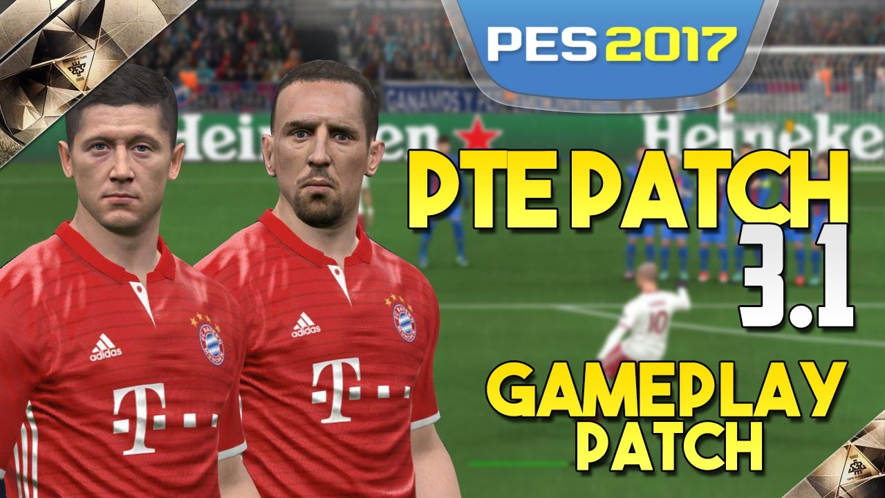 [TTB] PES 2017 - PTE Patch 3 1 Overview - Gameplay Patch PC