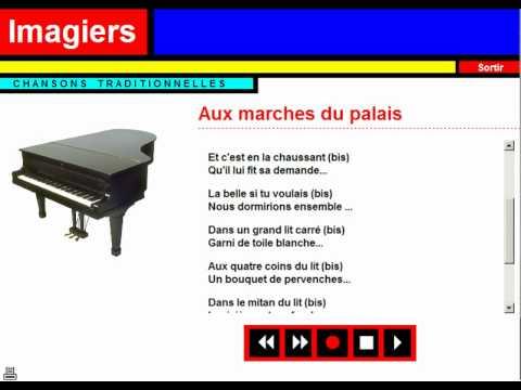 Karaoke = Chanson traditionnelle = Aux marches du Palais