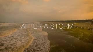 After a Storm - Marina di Ravenna / Drone footage HD - Phantom 3