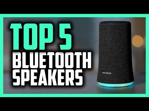 Best Bluetooth Speaker In 2020 - Top 5 Portable Speakers For Indoor & Outdoors