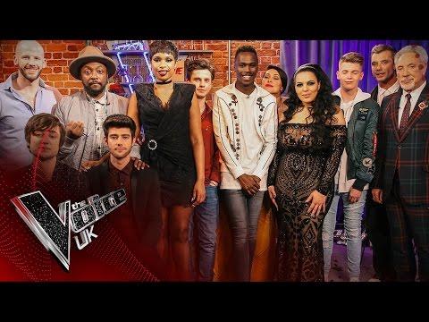 The V Room: Semi Final Winners!   The Voice UK 2017