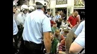 (Old Skool Hools) German Hooligans @ Brussels (Belgium) 1995