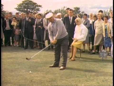 Part 2 1963 Shell's Wonderful World of Golf - Portmarnock Golf Club - Billy Casper v Harry Bradshaw