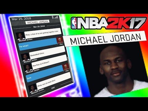 EVERYONE'S LYING!!! NBA 2K17 MICHAEL JORDAN CONTACT HIGH RISE COURT!!!