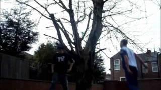 Crazy trampoline stunts and Free Libya XD