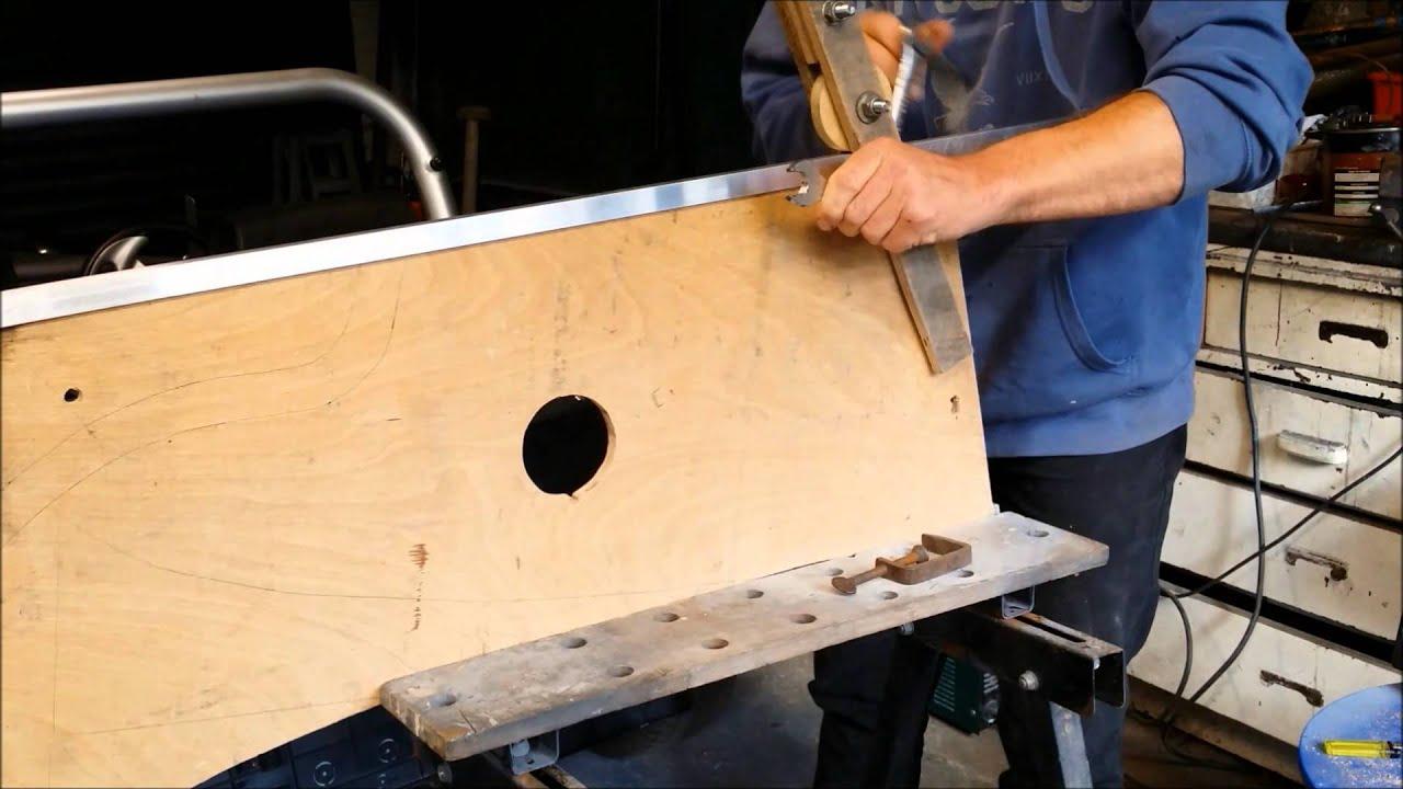 Making a Locost windscreen frame - YouTube
