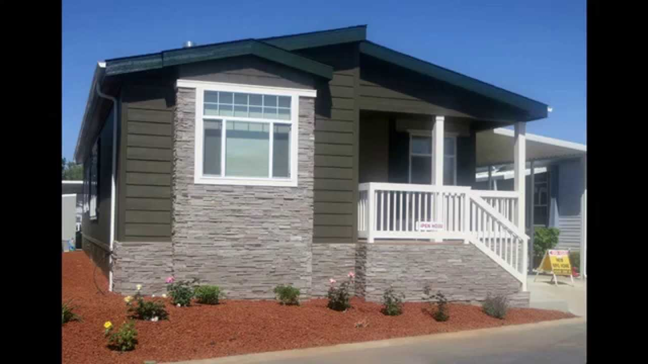Mobile Home Exterior Makeovers Before And After