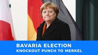 Defeat in Bavaria delivers knockout punch to Merkel's tenure as Chancellor