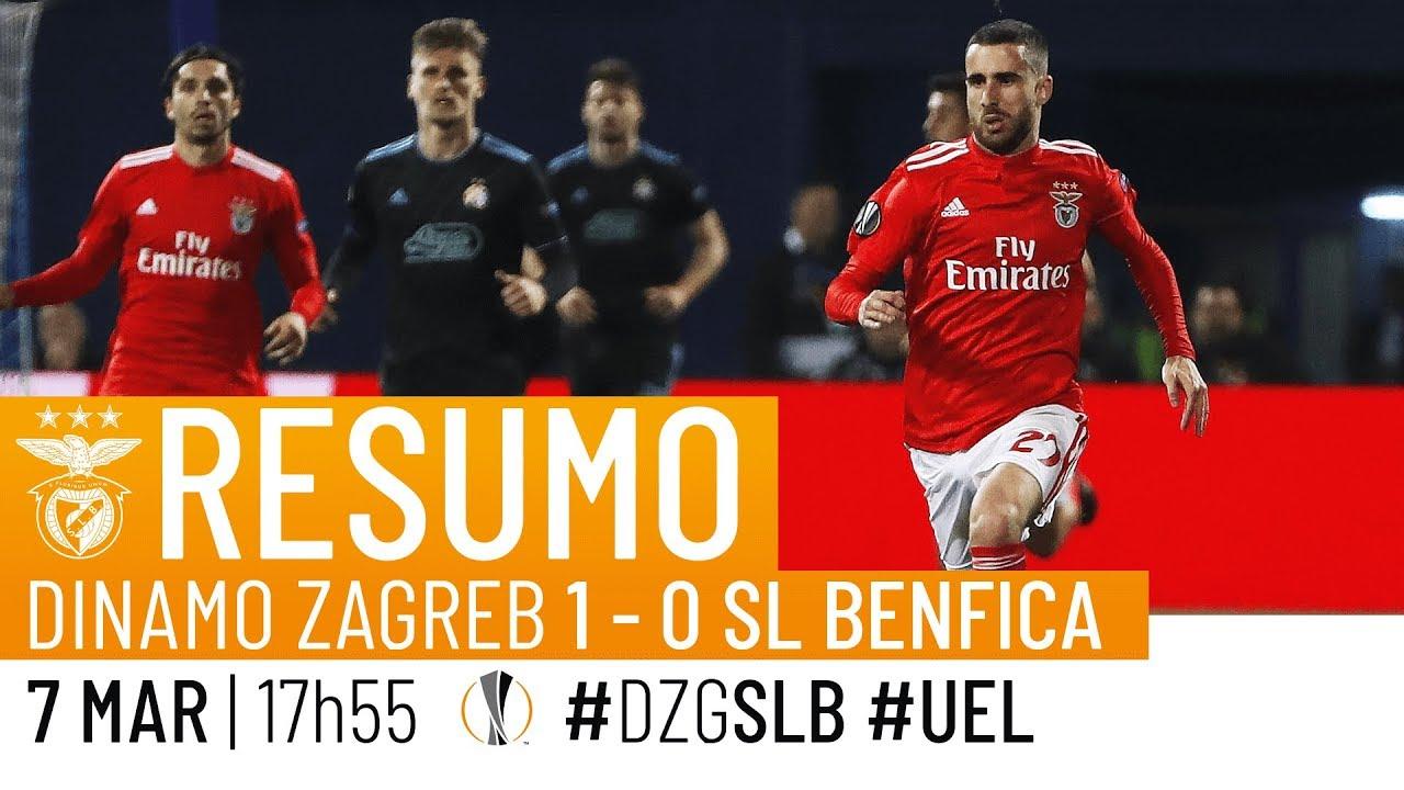 Highlights Dinamo Zagreb 1 0 Sl Benfica Youtube