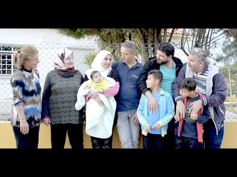 """They love us & we love them"" Portuguese town welcomes Palestinian-Iraqi family"