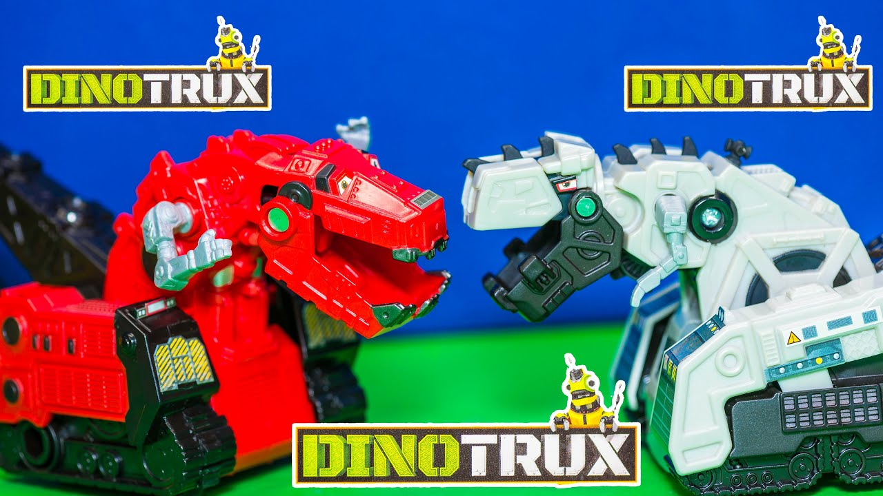 Trucks R Us >> Unboxing the Dinotrux Ty Rux With Blaze and Dinosaur Trucks Toys - YouTube