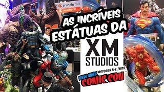 XM STUDIOS: As estátuas da DC Comics mais incríveis da New York Comic Con NYCC 2018 - booth tour