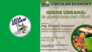 Conferenza Lega Giovani Lombardia - Giorgio Gaspani (Cem Ambiente)