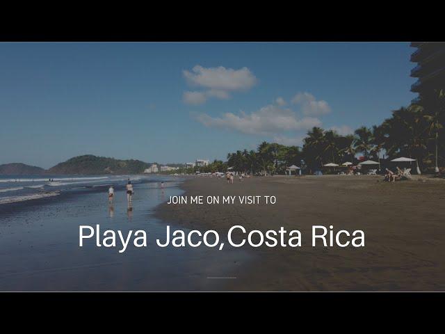 Playa Jaco, Costa Rica.