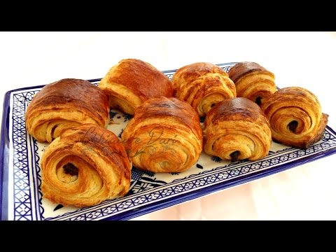 بتي بان بحال ديال المخبزة | Petits pain au chocolat maison