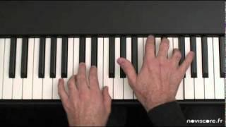 Jouer facilement au piano la sonate au clair de lune de Beethoven (adagio)
