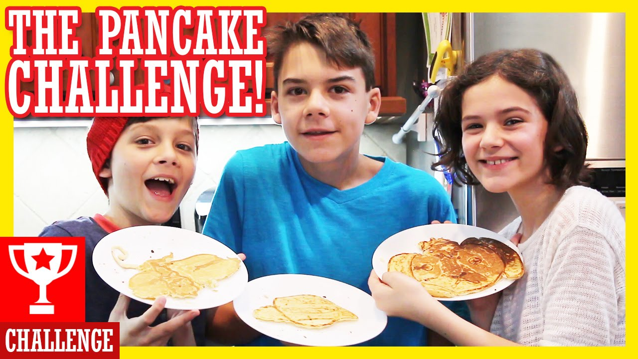 Pancake Art Challenge : PANCAKE ART CHALLENGE!! KITTIESMAMA - YouTube