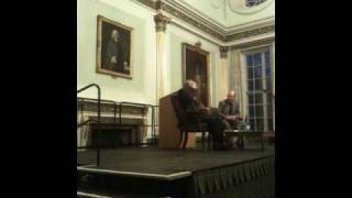 Philip Pullman Talking about THE GOOD MAN JESUS AND THE SCOUNDREL CHRIST