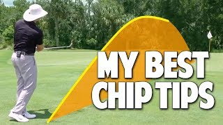 How To Hit Chip Shots Around The Green | Easy Technique