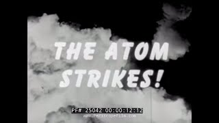 1945 U.S. ARMY REPORT ON ATOMIC BOMBING OF JAPAN 25042