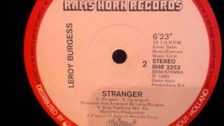 Leroy Burgess - Stranger